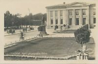 NORWAY 1930 very fine mounted mint RP postcard OSLO University, Karl Johansgate