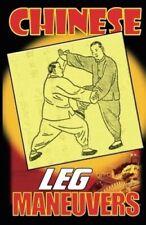 Chinese Leg Maneuvers Book Wang Paperback Book Y Wang martial arts kung fu