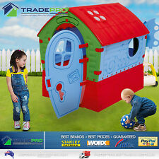 Kids Cubby House Outdoor & Indoor Playhouse Cottage Children Toy Play Set Home