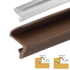 Timber Wood Window & Door Frame S- type Gasket Double Glazing Rubber Repair Seal