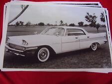 1958 CHRYSLER  SARATOGA 4DR HARDTOP    BIG 11 X 17  PHOTO /  PICTURE