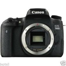 "Canon EOS 760D Body 24.2mp 3"" DSLR Digital Camera Brand New Cod Jeptall"
