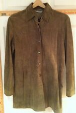 Women's Chico's Suede Leather Jacket size 0