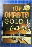 Top Charts Gold 1 Guitar Hage Musikverlag 2010 mit 2 CD H-306