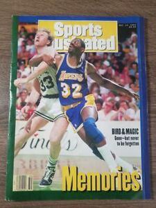 """Sports Illustrated : Dec. 14. 1992 """"Memories"""" Bird & Magic  Volume 77 Issue 25"""