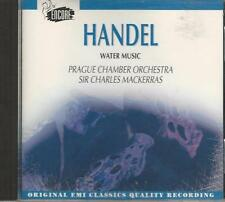 Music CD Handel Water Music Prague Chamber Orchestra Sir Charles Mackerras