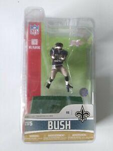 """REGGIE BUSH 3"""" NEW ORLEANS SAINTS NFL Action Figure McFarlane 2007"""
