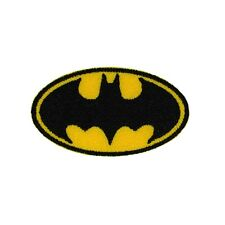 Batman Mini Bat-Signal Logo Patch DC Comic Book Superhero Iron-On Applique