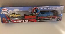 Trackmaster-THOMAS & ACE The Racer The-battery operated motorized-NEW-free ship