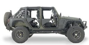 2007-2017 Jeep Wrangler Smittybilt XRC Front & Rear Armor Package 76880 & 76882