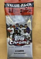 2020 Topps Chrome Update Cello Value Pack Sealed Luis Robert Pink Refractors HOT