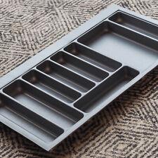 Grey Textured Cutlery Tray for 900mm Drawer | Blum Metabox | Kitchen Storage