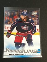 F60293  2019-20 Upper Deck #211 Kevin Stenlund YG RC YOUNG GUNS BLUE JACKETS