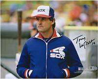 "Tony La Russa Chicago White Sox Autographed 8"" x 10"" 1986 Managing Photograph"