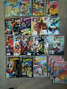 SUPERGIRL lot of 30 copper/modern age from DC Comics