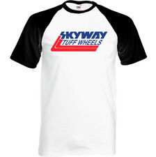 Skyway Tuff Wheels - Mens Retro BMX T-Shirt Cycling Bandit Bike Mongoose MTB