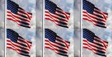 6x - 3x5 Feet American Flags - Brand New/High Quality - Made in Taiwan