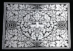 Tapestry Black & White Sun Art Leafs Poster Gift Wall Hangings Decor Throw Boho