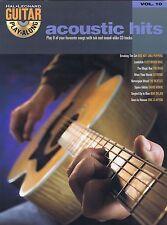Guitar Acoustic Hits. Volume 10 - Noten für Gitarre mit Play-Along CD