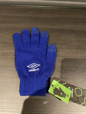 Umbro Iphone Gloves Blue One Size BRAND NEW