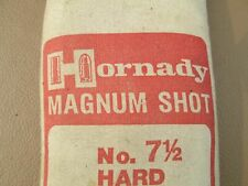 Hornady Magnum #7-1/2 Hard Lead Shot, 25#Unopened Bag, diving, exercise weight