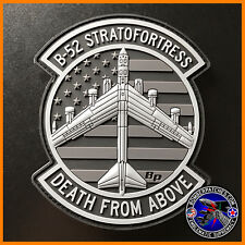 """B-52H Stratofortress """"Death From Above"""" Morale Patch, 11th 20th 23d 69th 96th BS"""