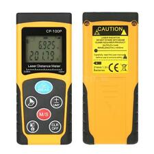 100M/328ft Digital LCD Laser Distance Meter Rangefinder Measure Diastimeter Tool