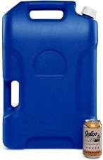 Igloo 6 Gallon Heavy Duty Portable Camping Hiking Water Storage Container, Blue