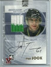 ITG Superlative Vault John Tavares Auto Autograph 2 Color Sock Card 1 of 1