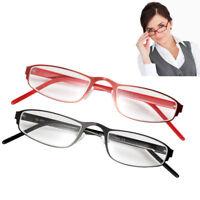 Black/Red Unisex Men Women Reading Glasses Readers 1.5+/2.0+/2.5+/3.0+
