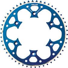 TALON GROOVELITE REAR SPROCKET BLUE 52T Fits: Kawasaki KX250F,KX450F,KX250,KX125