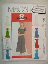 Petite Dress Size 12 to 16 Sewing Pattern McCall's 3129 See Full Listing Info