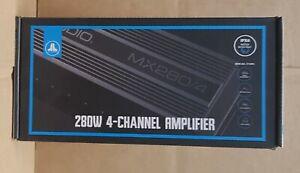 JL Audio MX280/4 Marine Powersports Weather Resistant 280 watt 4 Chan Amplifier
