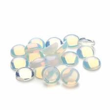 10Pcs Wholesale 10x(5~6)mm Opal Opalite Round CAB CABOCHON L826-4