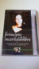 """DVD """"EL PRINCIPIO DE LA INCERTIDUMBRE"""" PRECINTADA MANOEL DE OLIVEIRA LEONOR BALD"""