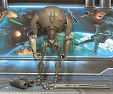 STAR WARS FIGURE ANIMATED CLONE WARS SUPER BATTLE DROID