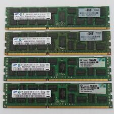 32GB KIT 4 X 8GB HP 500205-071 Reg DIMM PC3-10600R SAMSUNG PROLIANT