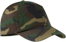 Mens CAMO Baseball Cap Camouflage 100% Cotton Army Fishing Camping Hunting Hat