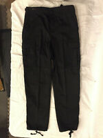 NWOT's 3rd Party Military Style BDU Black Color Cargo Pants XXXX Large Regular
