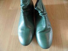 BUFFALO schöne Ankle Boots Stiefeletten grün Gr. 39 NEU HMI316