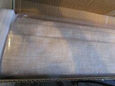 Pottery Barn Emery Linen/Cotton blackout  Roman shade cordless oatmeal 36 64