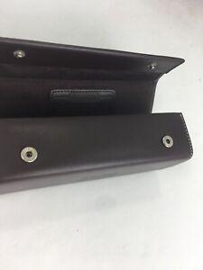 Coach Eyeglass Case Leatherware 1941 Vintage Dark Brown Leather Snap Box B29