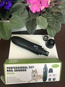 Professional Rechargeable Electric Pet Dog Cat Nail Trimmer Grooming Tool Best