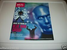 BLUE MAN GROUP M LIFE MAGAZINE LAS VEGAS