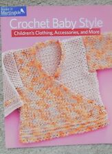 Martingale CROCHET BABY STYLE crochet pattern book