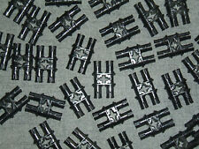 Technic Lego 10 Double Pin with Axle Hole Black - 32136