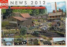 Busch News Catalogue - 2012
