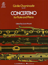 Cecile Chaminade Concertino For Flute Piano Op.107 Learn Play Sheet Music Book