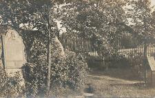 NY * John Brown Plaque & Grave RPPC ca. 1908 * North Elba Essex Co.