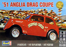 Revell 1/25 1951 Anglia Drag Coupe Skipper's Critter PLASTIC MODEL KIT 851269